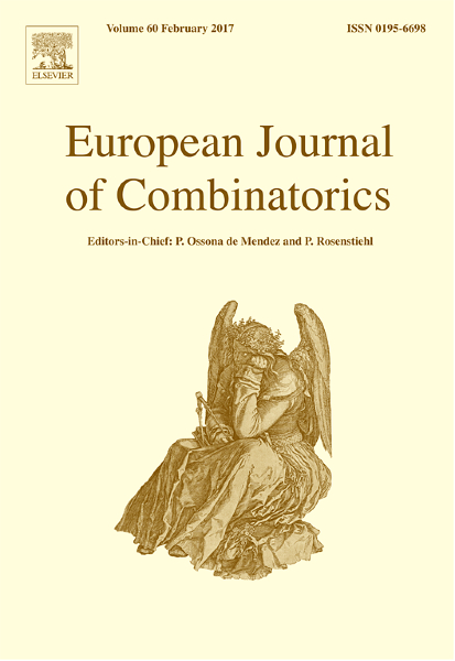 european-journal-of-combinatorics-cover